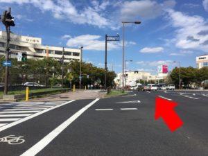 北堺警察署前